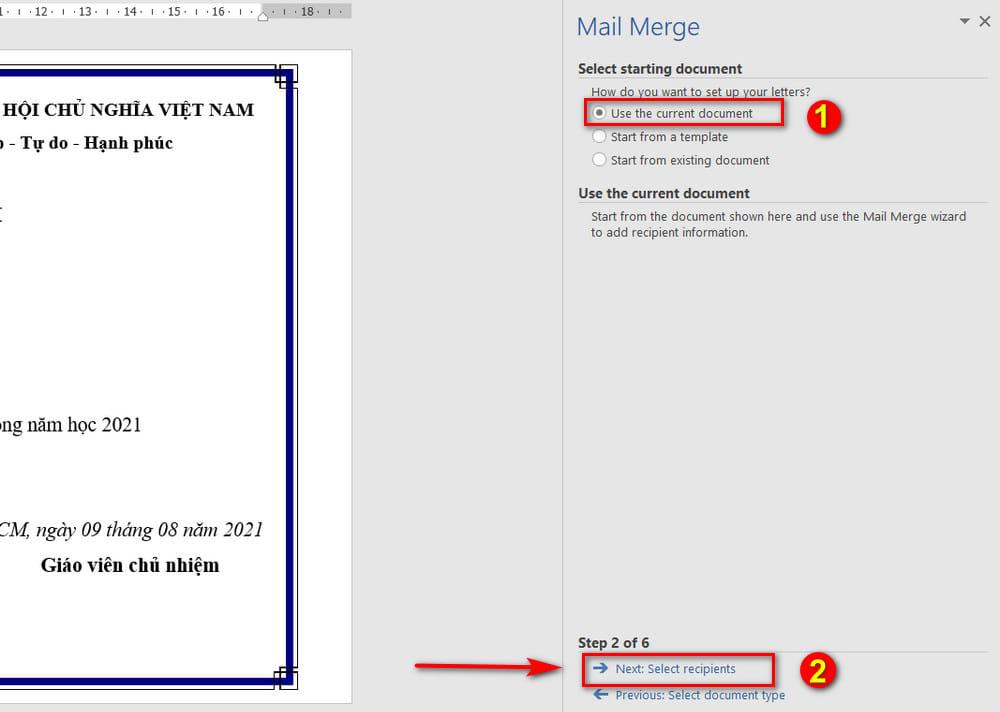 mailings-step2